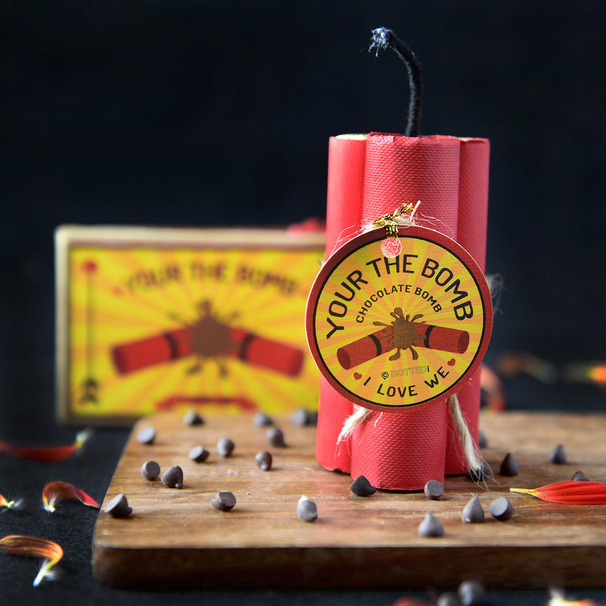 Diwali Gift- You Are The Bomb Chocolate