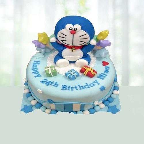 Doremon Cream Cake