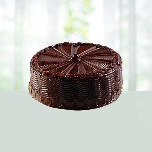 2.2 lB Eggless Light Chocolate Cake