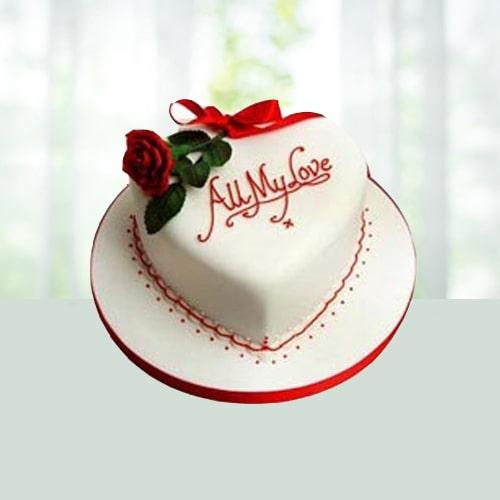 Love Fondant cake 1 kg