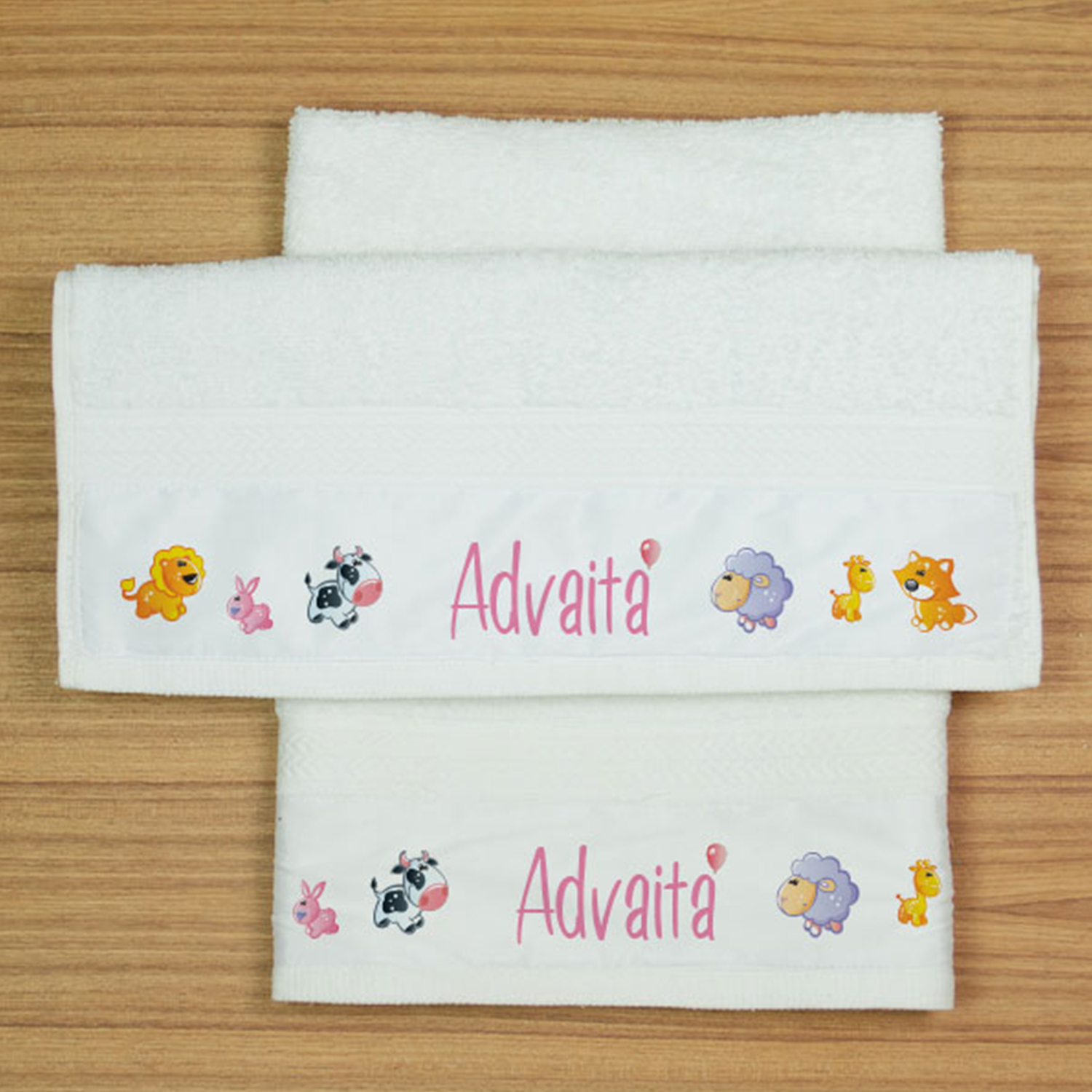Personalized Hand Towel For Her