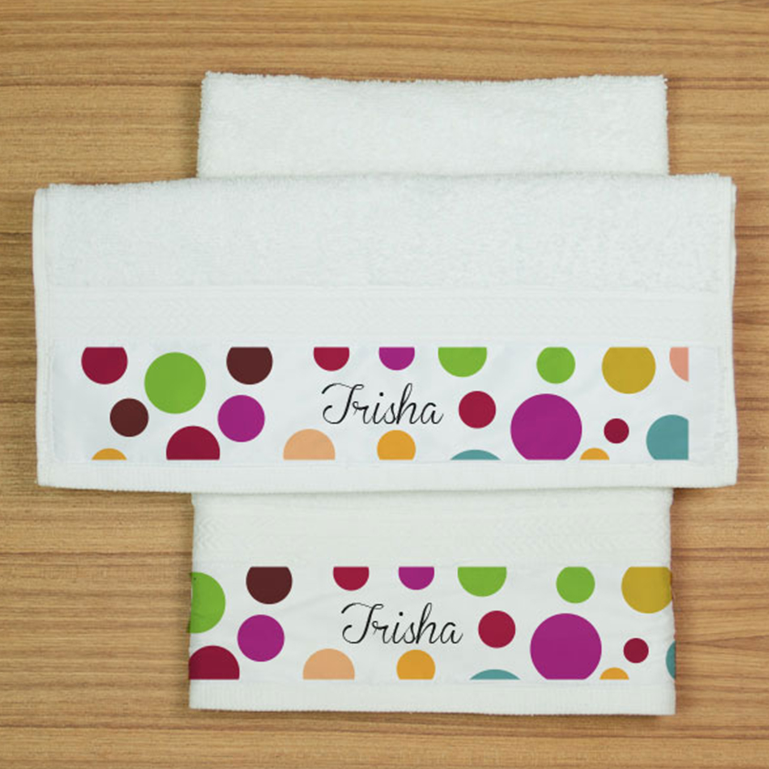 Love Angel Personalized Hand Towel