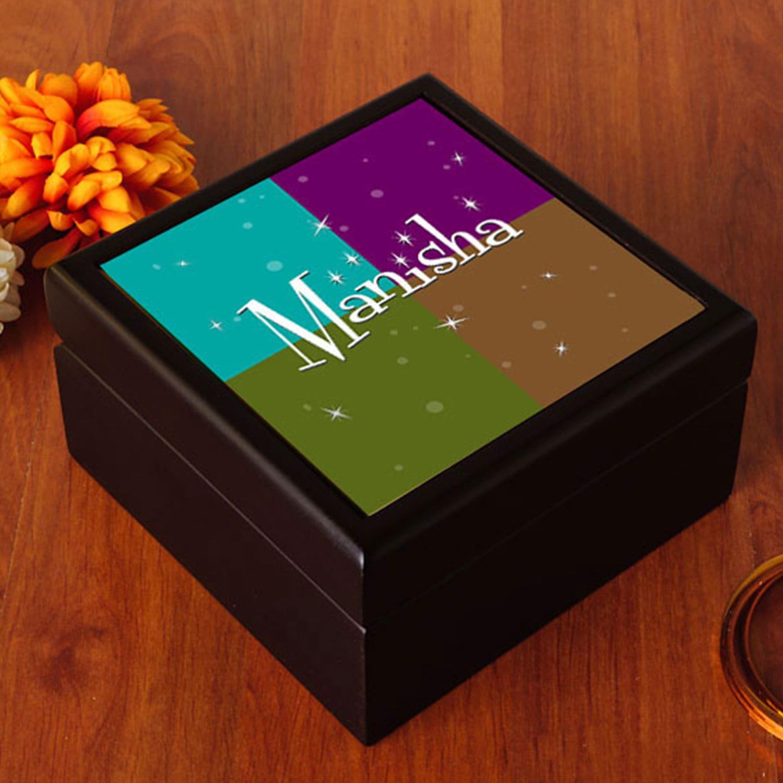 Bridal PersonalizedJewelry Box