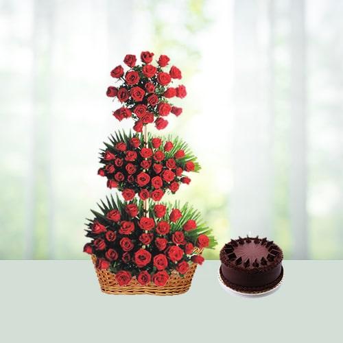 LifeStyle Flowers - Cake Hamper