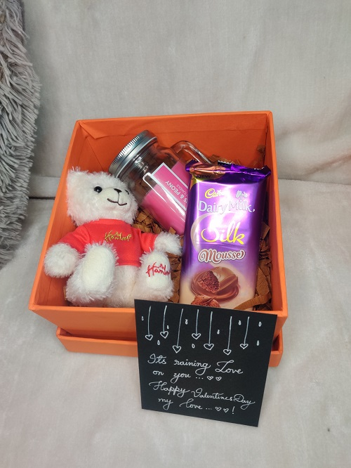 Love Gift-Teddy and Silk