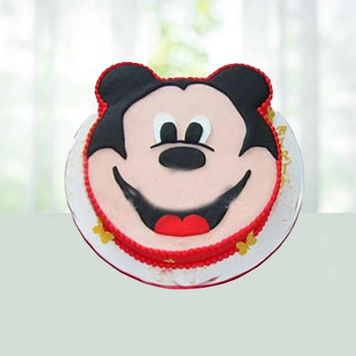 Cartoon or Mickey Mouse Shape Cake