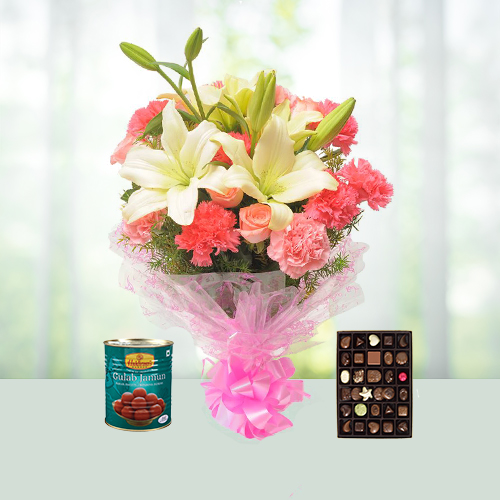 Mix Flowers N Sweets