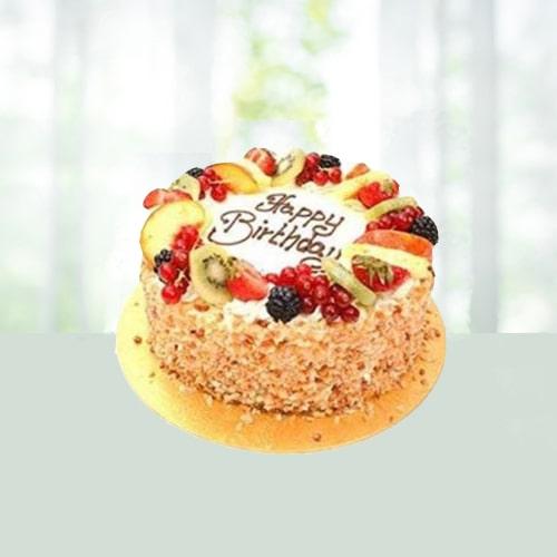 Butter Scotch Designer  Cake Half Kg
