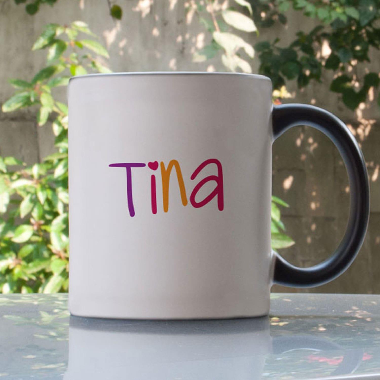 Heart Personalized Magic Mug