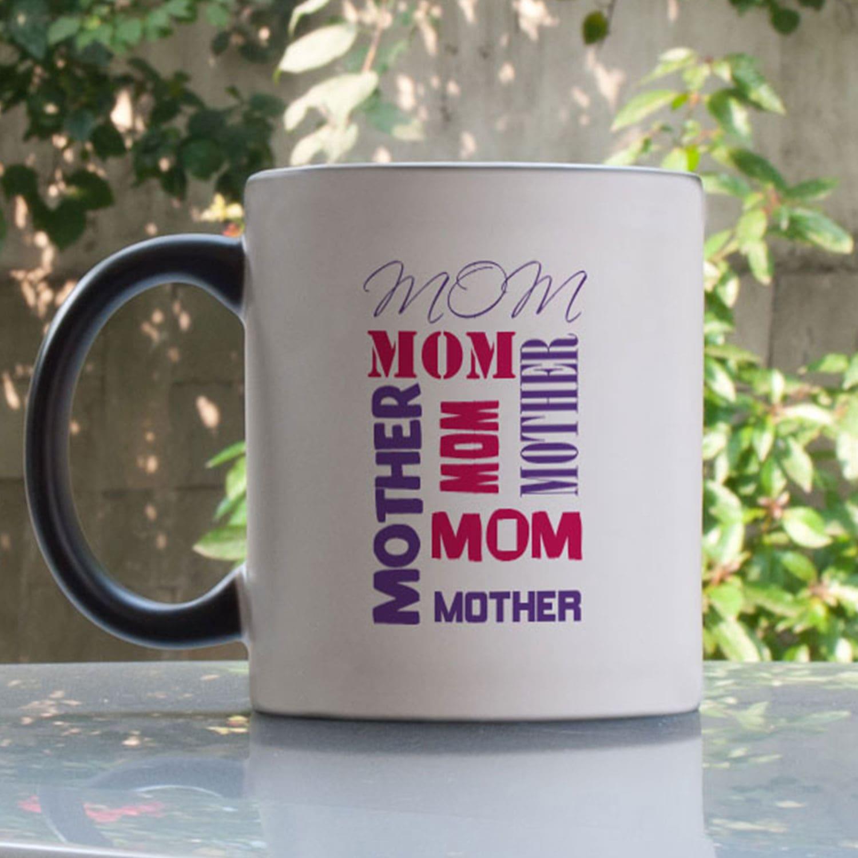 Loving Mom Personalized Magic Mug