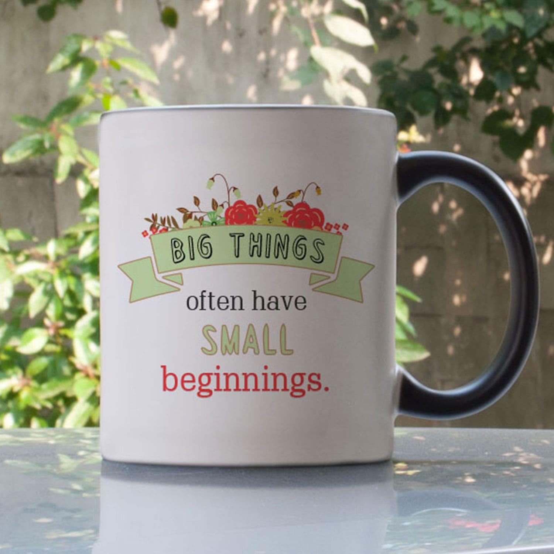 Big things Personalized Magic Mug