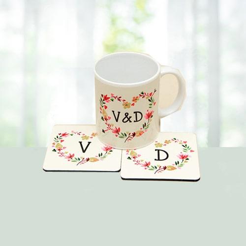 Personalized Printed Mug (Initials)