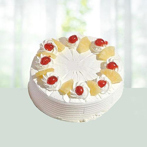2.2 lB Eggless Pineapple cake