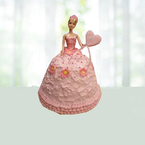 Doll Shape Designer Cake