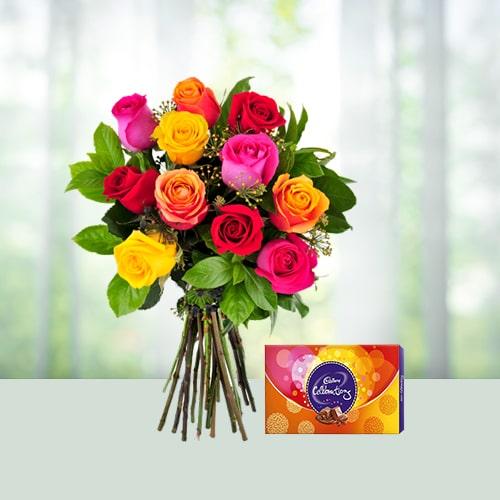 Mix Roses N Chocolates