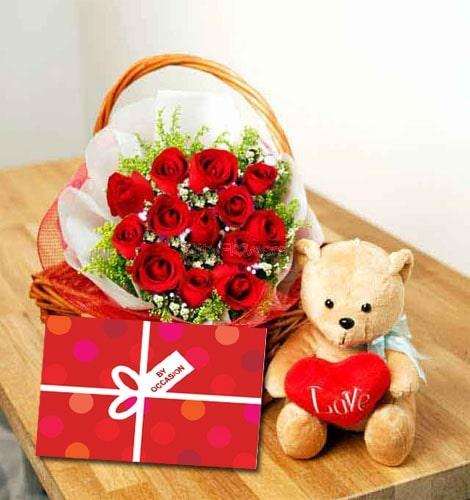 Send Gift-Adorable Pink Carnation and Cadbury Silk Combo