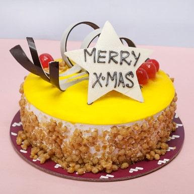 Christmas Gift- Butter Scotch Fruit Cake