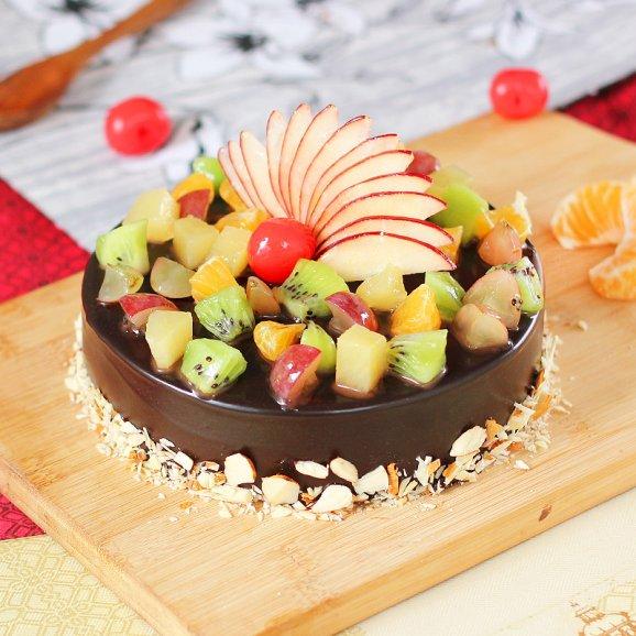 Choco Paradise Fruit Cake 1 Kg