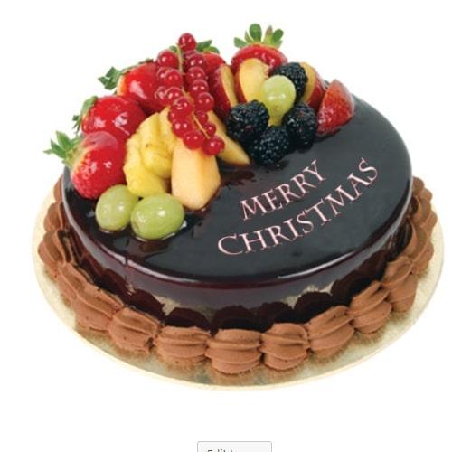 Christmas Gift- Chocolate Fruit Cake
