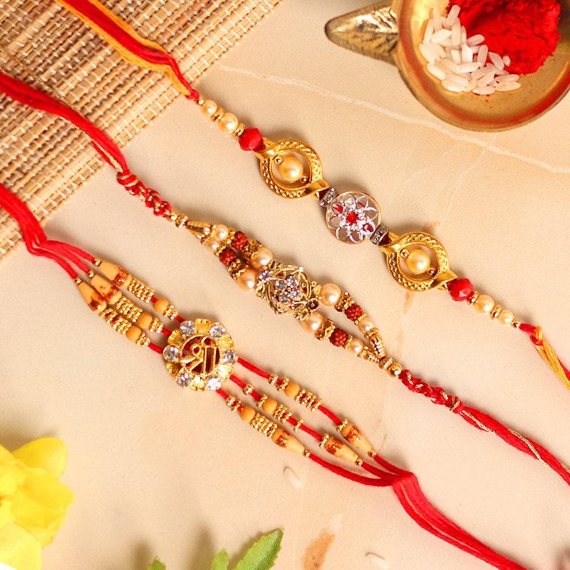 Royal designer Rakhi Set