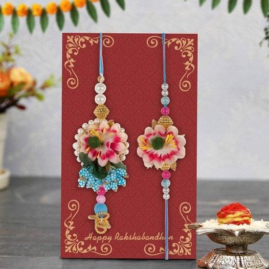 Bhaiya Bhabhi Rakhi gift Set