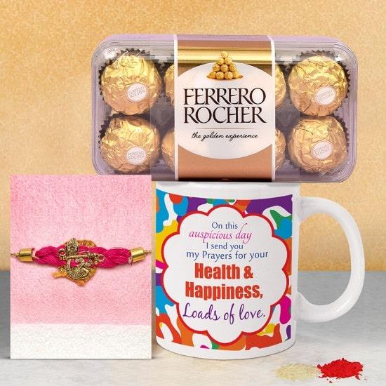 Amazing Rakhi with Ferrero Rocher