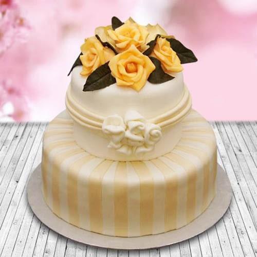 Rose Fondant Cake 5kg