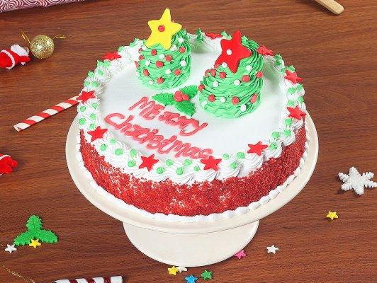 Christmas Gift- Red Velvet Cake
