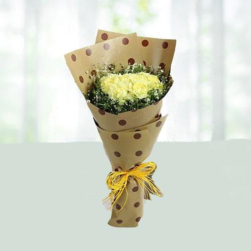 Splendour Yellow Carnation