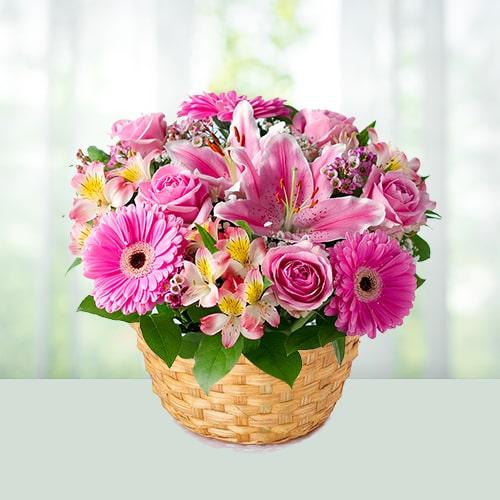 Elegant Flower Basket