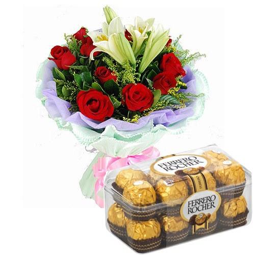 Roses N Lily Love