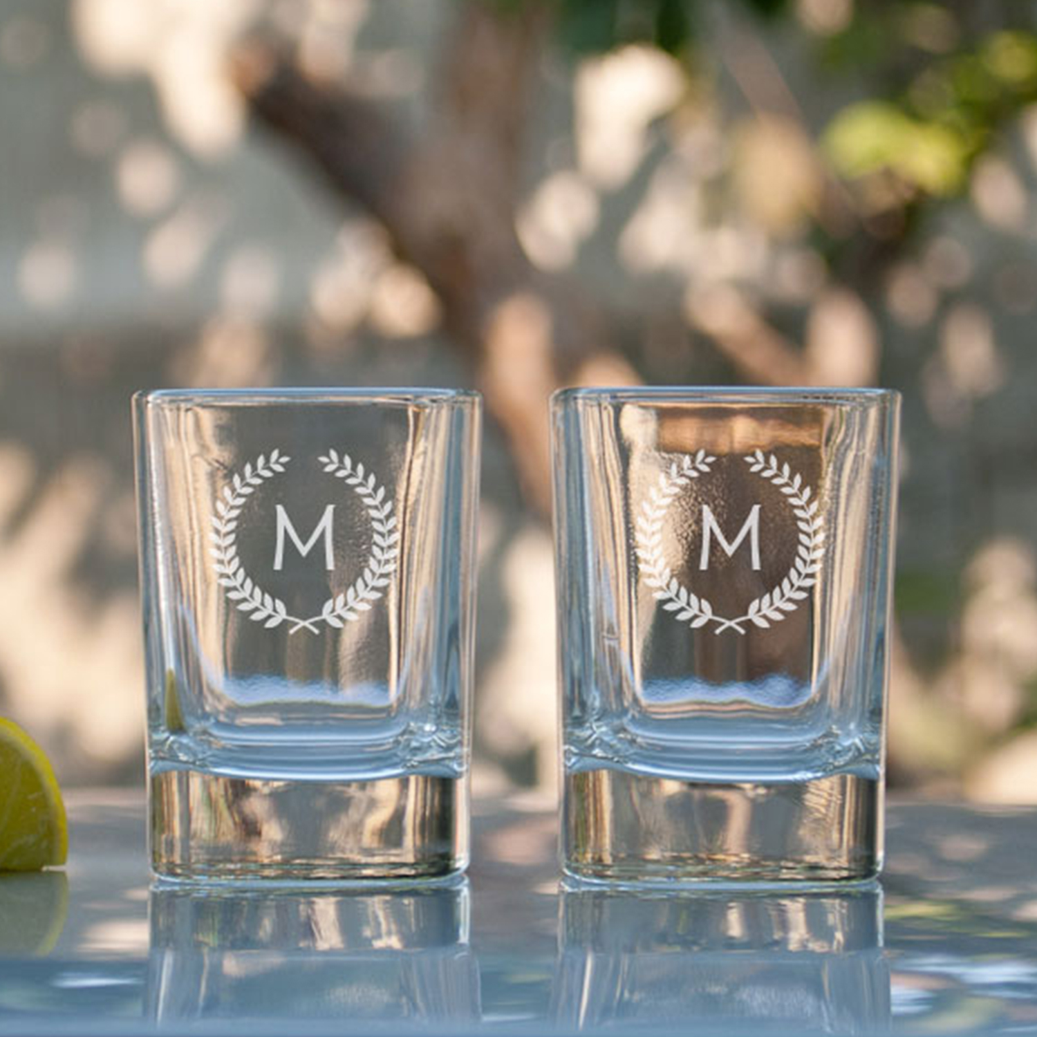 Hey Cheers Personalized Gift Shot Glasses