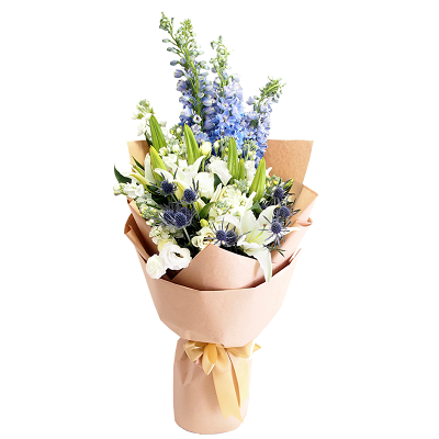 Inspired White Lily Bouquet