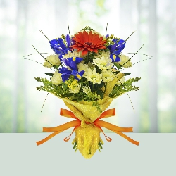 15 Mix Seasonal Flower Bouquet