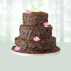 3 Tier Chocolate Cake