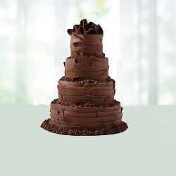 4 Tier Chocolate Cake