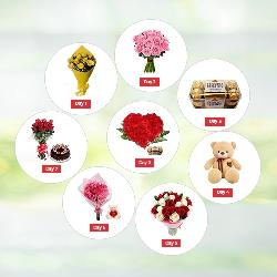8 Days Valentine Day Gifts