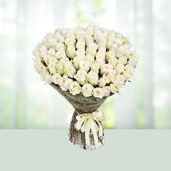99 White Roses