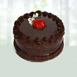 2.2 lB Eggless Chocolate Cake