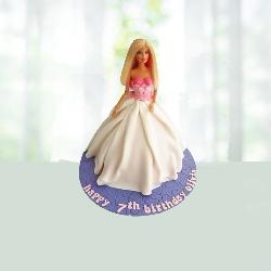 Classic Barbie cake 2kg
