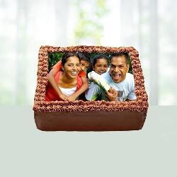 Deliciuos Photo Chocolate Cake