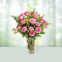Flowers Beauty in Glass Vase