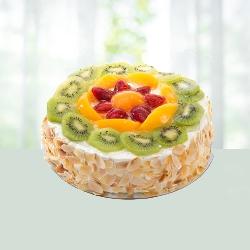 Five Star Bakery - Fresh Fruit Cake 1Kg