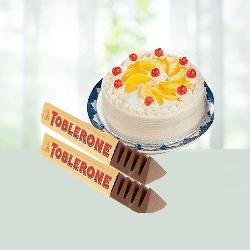 Cake with Chocolates