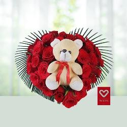 Rosy valentine