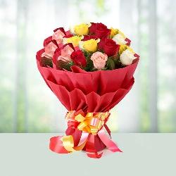 20 Mix roses