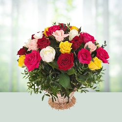 Bouquet of 16 Mix Roses