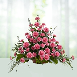 Pink Carnations Arrangement