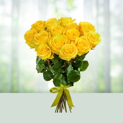 Flowers Bouquet-Yellow Roses