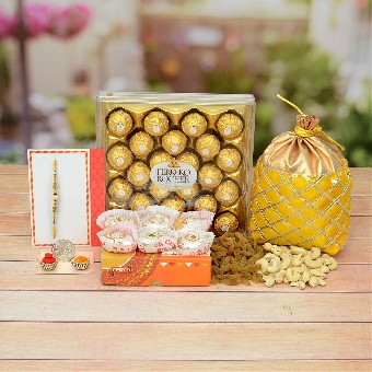 Family Rakhi Celebrations Hamper.